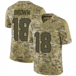 Jaron Brown Seattle Seahawks Youth Limited 2018 Salute to Service Nike Jersey - Camo