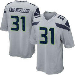 Kam Chancellor Seattle Seahawks Youth Game Alternate Nike Jersey - Gray