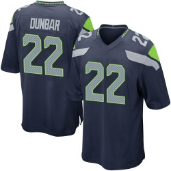 Quinton Dunbar Seattle Seahawks Youth Game Team Color Nike Jersey - Navy
