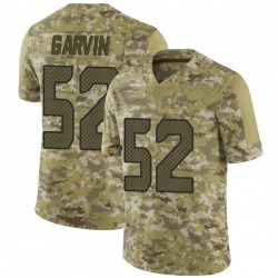 Terence Garvin Seattle Seahawks Youth Limited 2018 Salute to Service Nike Jersey - Camo